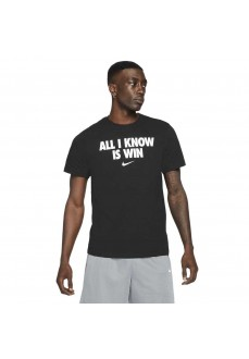 """Camiseta Hombre Nike """"All I Know Is Win"""" Negro DD0773-010 