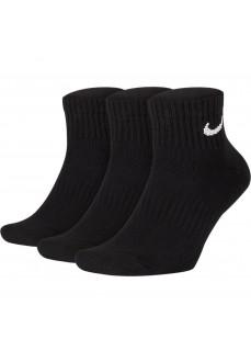Calcetines Nike Everyday Cushioned Negro SX7667-010 | scorer.es