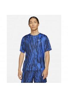 Nike Men's T-Shirt Dri-Fit Miler Blue DA1194-480 | Running T-Shirts | scorer.es