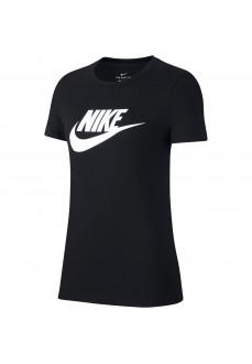 Camiseta Mujer Nike Tee Essential Icon Negro BV6169-010 | scorer.es