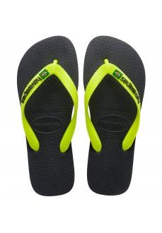 Havaianas New Graphite Men's Flip Flops Black 4110850.0074 | Men's Sandals | scorer.es