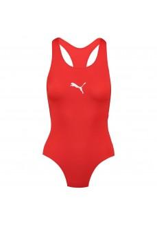 Puma Women's Swimwear Classic Racerbac Red 100000068-002 | Women's Swimsuits | scorer.es