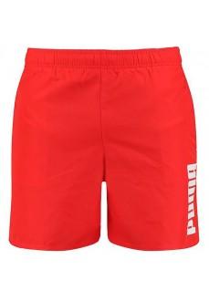 Puma Men's Swimwear Swim Mid Red 100001385-002 | Men's Swimsuits | scorer.es