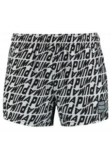 Puma Men's Swimwear Wave AOP Black/White 100001266-003 | Men's Swimsuits | scorer.es
