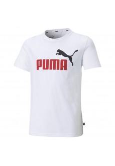 Camiseta Niño/a Puma Essential+2 Col Logo Tee Blanco 586985-02   scorer.es