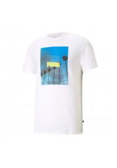 Puma Men's T-shirt Photo Tee White 587773-02   Men's T-Shirts   scorer.es