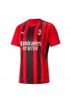 Puma Ac Milan 2021/2022 T-Shirt Red/Black 759122-01   Football clothing   scorer.es