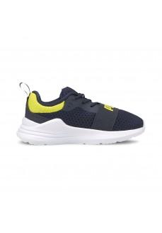 Puma Kids' Shoes Wired Navy 374214-07 | Kid's Trainers | scorer.es