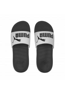 Puma Men's Slides Popcat 20 Black/White 372279-09 | Men's Sandals | scorer.es