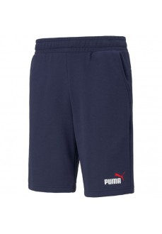 Puma Men's Shorts Essential+2 Col Navy blue 586766-06 | Men's Sweatpants | scorer.es