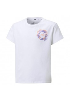 Puma Kids' T-shirt Amplified Silhouette Tee White 586171-02 | Kids' T-Shirts | scorer.es