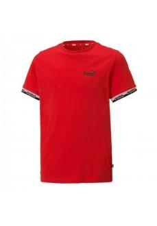 Puma Kids' T-shirt Amplified Tee Red 585997-11 | Kids' T-Shirts | scorer.es