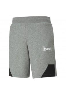Puma Men's Shorts Rebel Grey 585749-03 | Men's Sweatpants | scorer.es