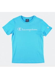 Camiseta Niño/a Champion Cuello Caja Azul 305169-BS070-HAO   scorer.es