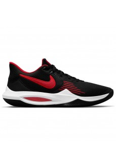 Baskets Nike Precision V Noir/Rouge Homme CW3403-004