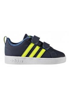 Zapatillas Adidas AdVantage Azul/Amarillo fluorescente