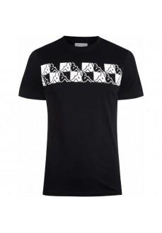 Camiseta Hombre Kappa Tigani Negro 311BB4W-005 | scorer.es