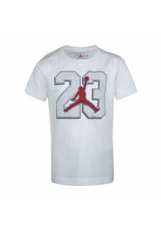 Camiseta Niño/a Nike Jordan Jumpman Blanco 95A639-001 | scorer.es