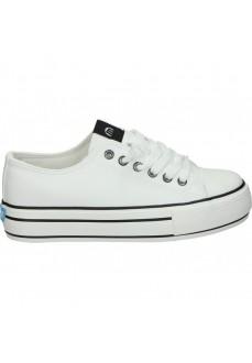 Mustang Women's Shoes Canvas Black/White 69423   Women's Trainers   scorer.es