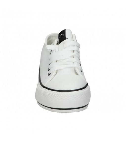 Zapatillas Mujer Mustang Canvas Blanco/Negro 69423 | scorer.es