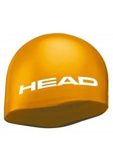 Head Silicone Moulded Swim Cap Orange 455005-OR | Swimming caps | scorer.es