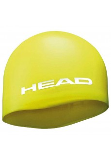 Head Silicone Moulded Swim Cap Yellow | Swimming caps | scorer.es