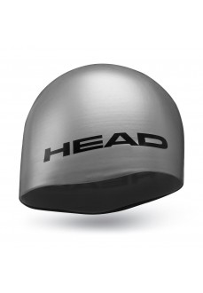 Head Silicone Moulded Swim Cap Grey 455005-SI | Swimming caps | scorer.es