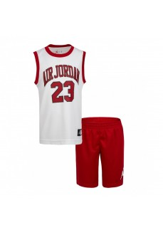 Conjunto Niño/a Nike Jordan Muscle Blanco/Rojo 857559-R78 | scorer.es