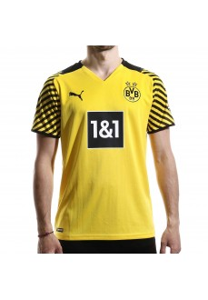 Puma Borussia Dortmund Men's Home Shirt 2021/2022 Yellow 759036-01   Football clothing   scorer.es