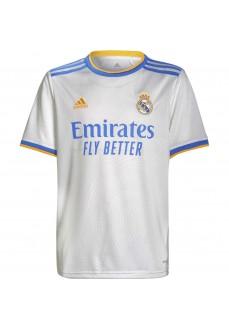 Adidas Real Madrid Kids' Home Shirt 2021/2022 GR3994   Football clothing   scorer.es