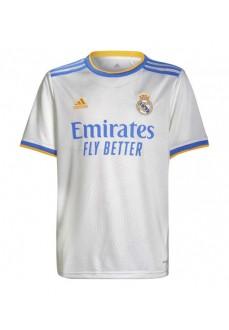 Adidas Real Madrid Men's Home Shirt 2021/2022 GQ1359   Football clothing   scorer.es