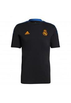 Adidas Real Madrid Men's T-shirt 2021/2022 Black GR4345   Football clothing   scorer.es