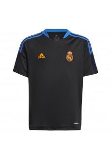 Adidas Real Madrid Kids' T-shirt 2021/2022 Black GR4326 | Football clothing | scorer.es