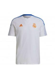 Adidas Real Madrid Men's T-shirt 2021/2022 White GU9711 | Football clothing | scorer.es