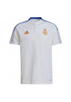 Adidas Real Madrid Men's T-Shirt 2021/2022 White GU9709 | Football clothing | scorer.es