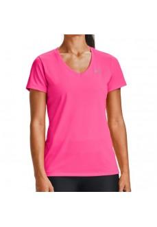 Camiseta Mujer Under Armour Tech SSv-Solid Fucsia 1255839-653 | scorer.es