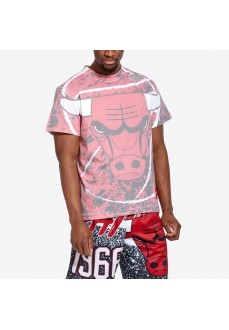 T-shirt Mitchell & Ness Chicago Bulls Rouge Homme SSTEAJ19069-CBUSCAR