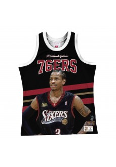 Mitchell & Ness Philadelphia 76ers Allen Iverson Swingman Jersey MSTKSC19048-P76BLCKAIV | Basketball clothing | scorer.es