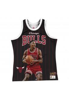 Maillot Mitchell & Ness Chicago Bulls Scottie Pippen Homme MSTKSC19048-CBUBLCKSPI