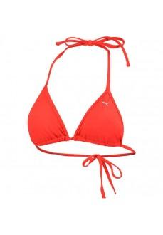 Puma Women's Triangle Bikini Top Red 100000037-002 | Bikinis | scorer.es