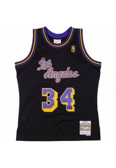 Mitchell & Ness Reload Swingman Shaquille O'Neal Los Angeles Lakers 1996-97 Black SMJYCP19273-LALBLCK96SON | Basketball cloth...