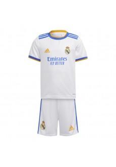 Adidas Real Madrid Kids' Home Kit 2021/2022 GR4011   Outfits   scorer.es