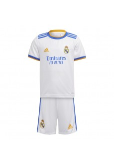 Minikit Infantil Adidas Real Madrid 1ª 2021/2022 GR4011 | scorer.es