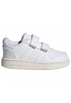 Adidas Hoops 2.0 Kids' Shoes White H01552 | Kid's Trainers | scorer.es