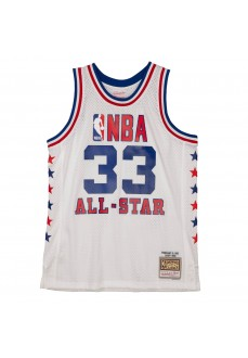 Maillot Mitchell & Ness Larry Bird 33 Homme SMJYLG20012-ASEWHIT85LBI