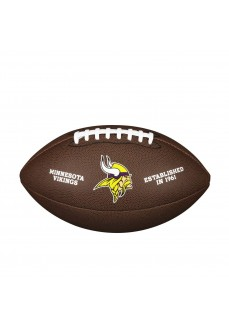 Balón Fútbol Americano Wilson Minnesota Vikings Marron WTF1748XBMN | scorer.es