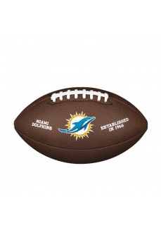 Balón Fútbol Americano Wilson Miami Dolphins Marron WTF1748XBMI | scorer.es