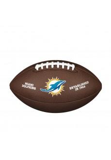 Wilson Miami Dolphins Football Ball Brown WTF1748XBMI | Balls | scorer.es