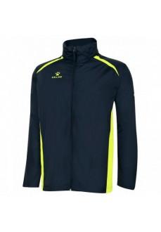 Kelme Millennium Kids' Raincoat Navy blue/Yellow 80918-490 | Raincoats | scorer.es