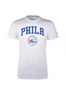 Camiseta Hombre New EraPhiladelphia 76ERS Blanco 11546141 | scorer.es